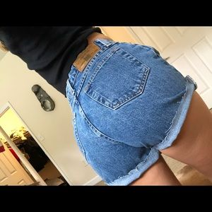 vintage faded glory jean shorts